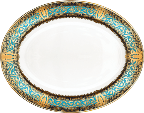 Small oval dish