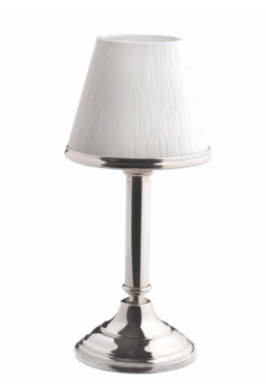 $1,500.00 Infini Silver-Plated Candle Holder