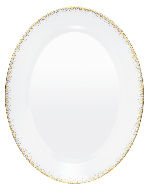 $233.00 Large oval dish