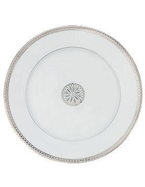 $71.00 Accent Plate with Medallion