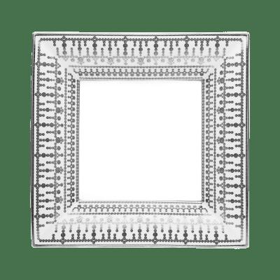 $900.00 Large White Platinum Tiara Tray