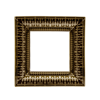$1,010.00 Large Black Gold Tiara Tray