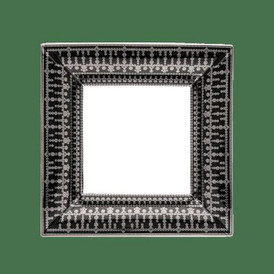 $915.00 Large Black Platinum Tiara Tray