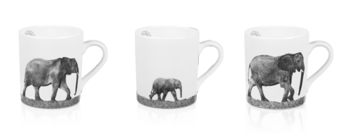 $327.00 Set of 3 Mugs - Trilogy In Africa