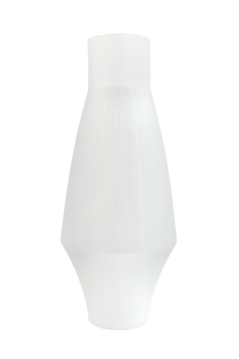 $490.00 Infini white large vase