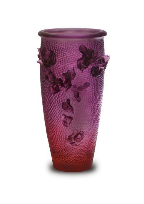 $15,600.00 Purple Red Magnum Tall Vase