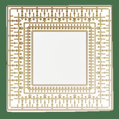 $960.00 Large White Gold Tiara Tray