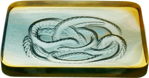 $1,195.00 Snake ornamental dish