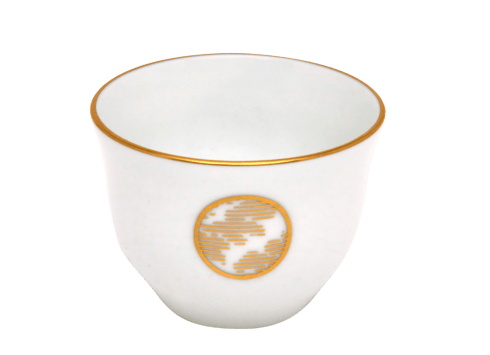 $46.00 Oriental Coffee Cup Blue