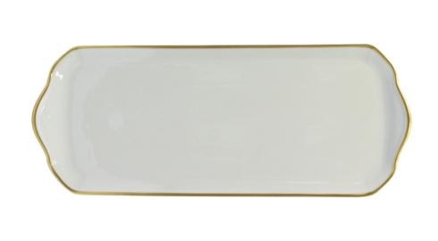 Haviland  Orsay Gold Oblong Cake Platter $300.00