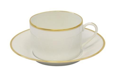 Haviland  Orsay Gold Teacup & Saucer $135.00