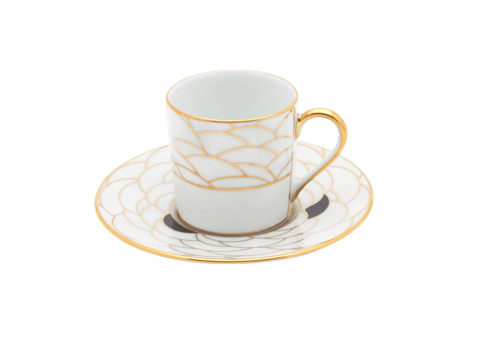 $163.00 Coffee Cup and Saucer
