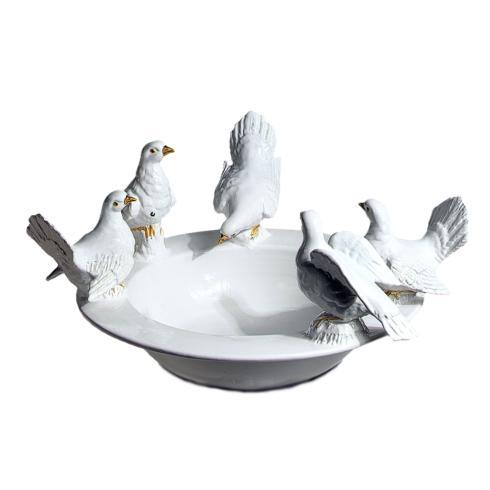 $594.00 Round Bird Bath with 5 Doves