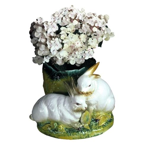 $570.00 Double Rabbit Cachepot