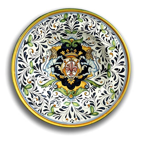$458.00 Plate with Lions