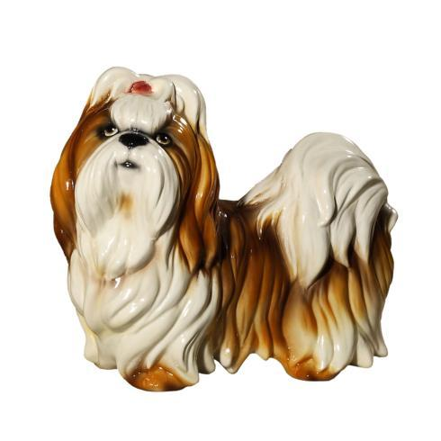 $191.00 Dog White and Brown Shih-Tzu
