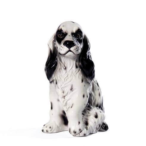 $110.00 Dog Cocker Spaniel White