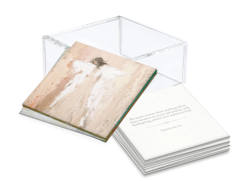 $55.00 100 Days of Scripture with Lucite Box