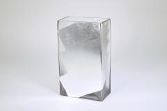 "Tamara Childs  Vases - Slash Tall Vase - 10""x8"" - Silver $80.00"