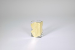 "Tamara Childs   3.5""x2.25"" Slash Mini Vase $28.00"