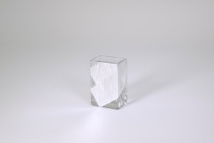 "$28.00 3.5""x2.25"" Slash Mini Vase"