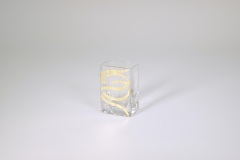 "Tamara Childs   3.5""x2.25"" Swirl Mini Vase $28.00"