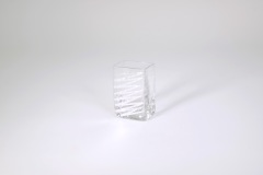 """$26.00 3.5""""x2.25"""" Zig Zag Mini Vase"""