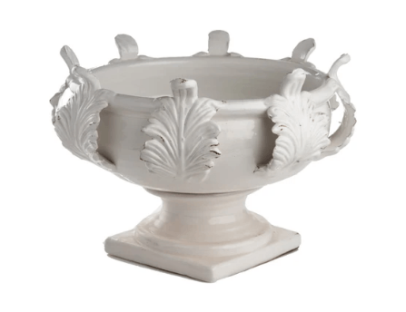 Acanthus White Planter - Large collection with 1 products