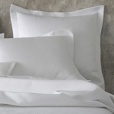 $498.00 Full/Queen Coverlet - White