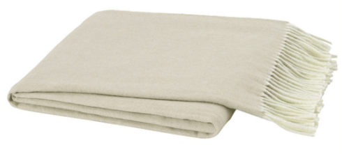 Ivy Cottage Exclusives  Lands Downunder Herringbone Throw - Birch $98.00