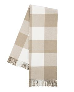 Ivy Cottage Exclusives  Lands Downunder Buffalo Check Throw - Dune $92.00