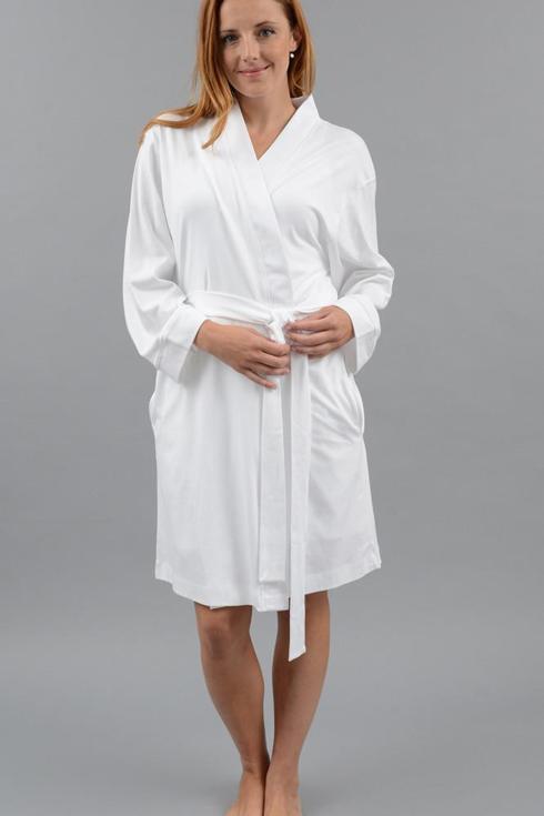 Kimono Robe, Short - White