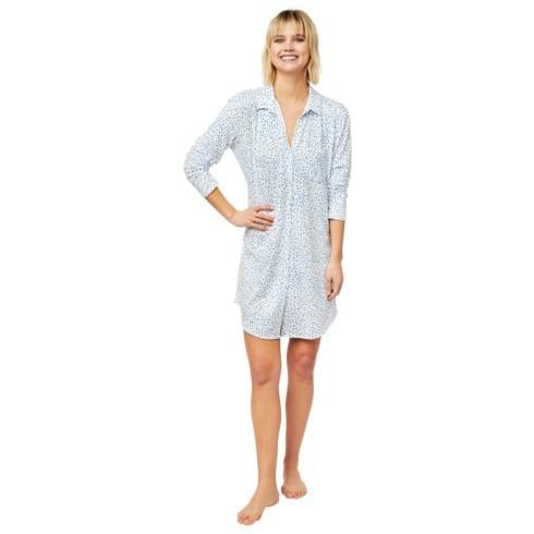 Blue Confetti Nightshirt Knit