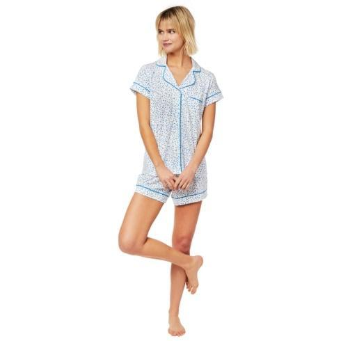 Blue Confetti Short PJ Knit Set collection with 4 products