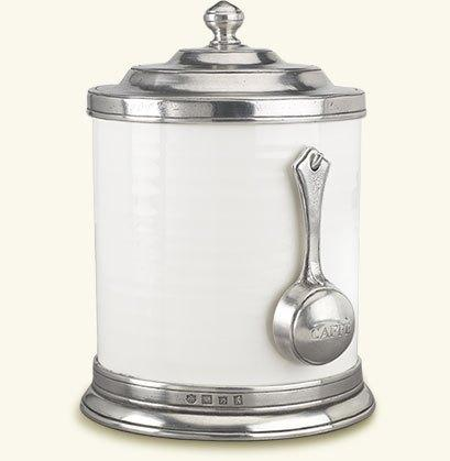 Match  Convivio Caffe Canister with Scoop $345.00