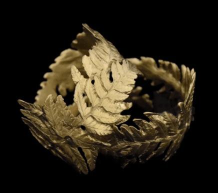 Fern Napkin Rings Set/4