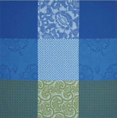 Fleurs de Kyoto Dinner Napkin - Indigo collection with 1 products