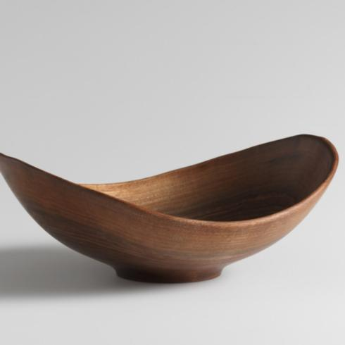 "Andrew Pearce   Live Edge 13"" Black Walnut Bowl $250.00"