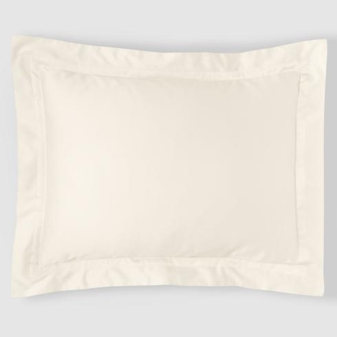 $135.00 Standard Sham - Ivory