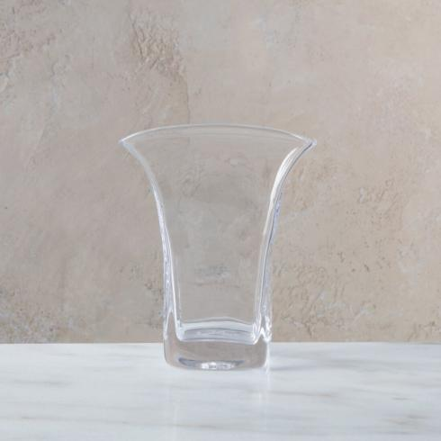 Simon Pearce  Weston Medium Rectangular Flare Vase $135.00