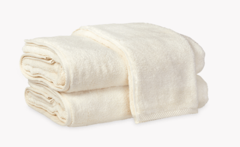 $49.00 Bath Towel - Ivory
