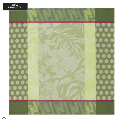 Nature Urbaine Dinner Napkin - Green collection with 1 products