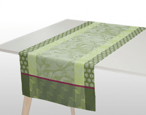 Nature Urbaine Table Runner - Green  collection with 1 products