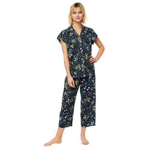 Night Flower Voile Capri PJ Set collection with 3 products