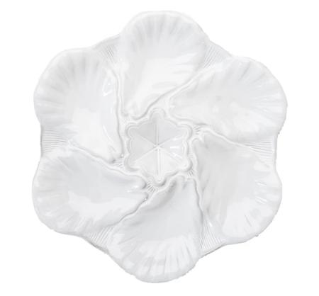 Abigails   Fleur de Lis Oyster Plate $44.00