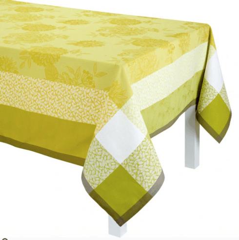 $215.00 Parfums de Bagatelle Tablecloth - Freesia 69x69