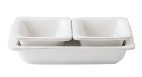 $88.00 Puro Whitewash 3 Piece Hostess Set - LIMITED AVAILABILITY