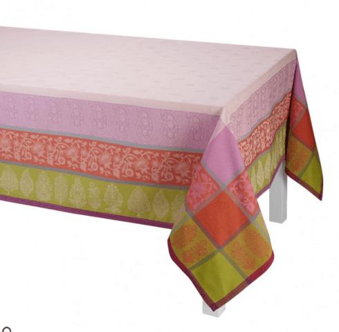$215.00 Sari Tablecloth - Pink 69x69