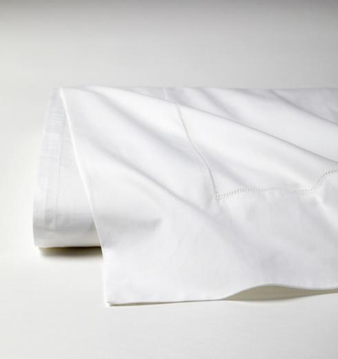 SFERRA  Analisa King Flat Sheet - White $160.00