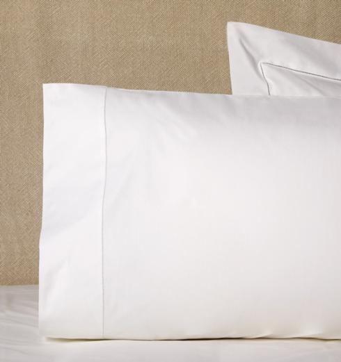 $80.00 King Pillowcases, Pair - White